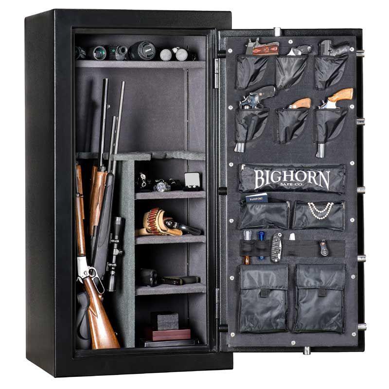 Pin on gun safe design
