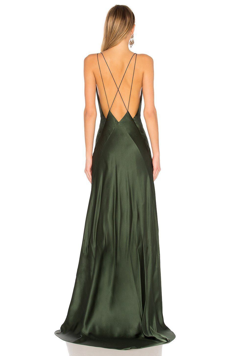Michael Lo Sordo Alexandra Maxi Dress In Bottle Green Revolve Pretty Dresses Special Dresses Fashion Shop the best women's designer dresses from high end, party, lace top, evening maxi, or maxi cocktail dresses! pinterest