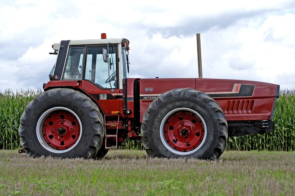 Case International Harvester Tractor : International harvester anteater tractors case ih