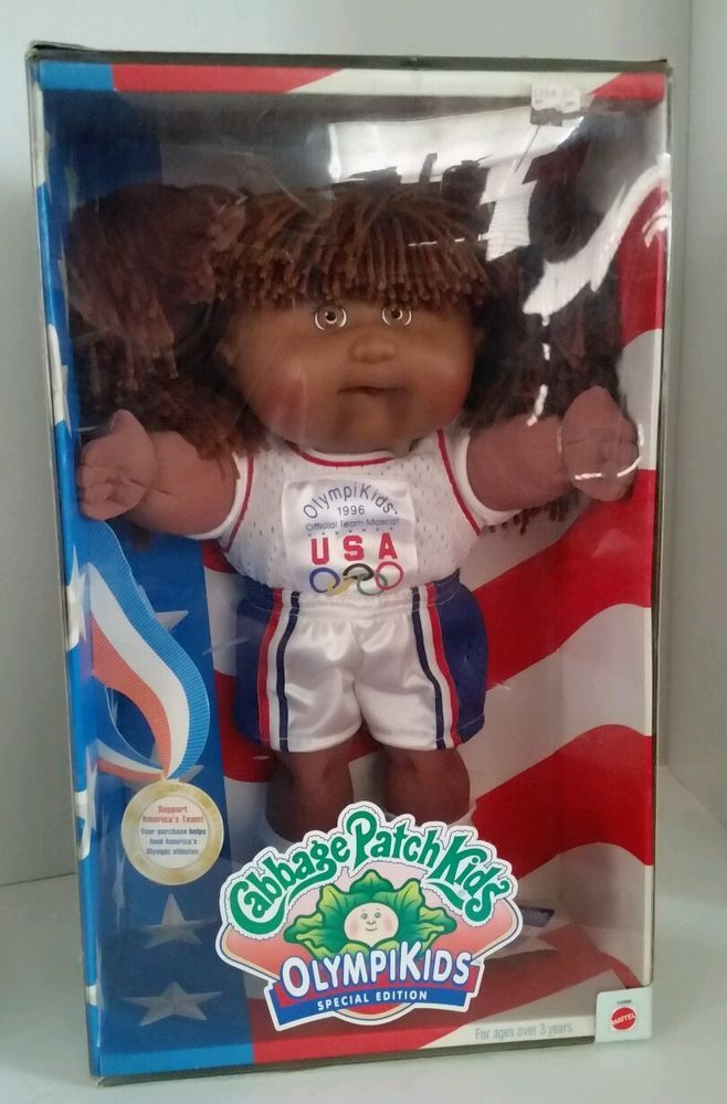 Cabbage Patch Kids Olympikids 96 Olympics Edition Girl Basketball Doll Aa New Patch Kids Cabbage Patch Kids Cabbage Patch Dolls
