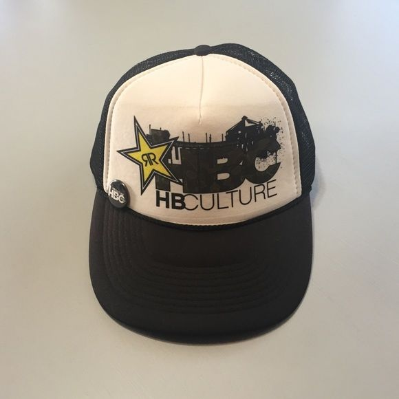 673f533856209 ... low cost cap new rockstar energy hb culture snapback trucker hat this  hat is from rockstar