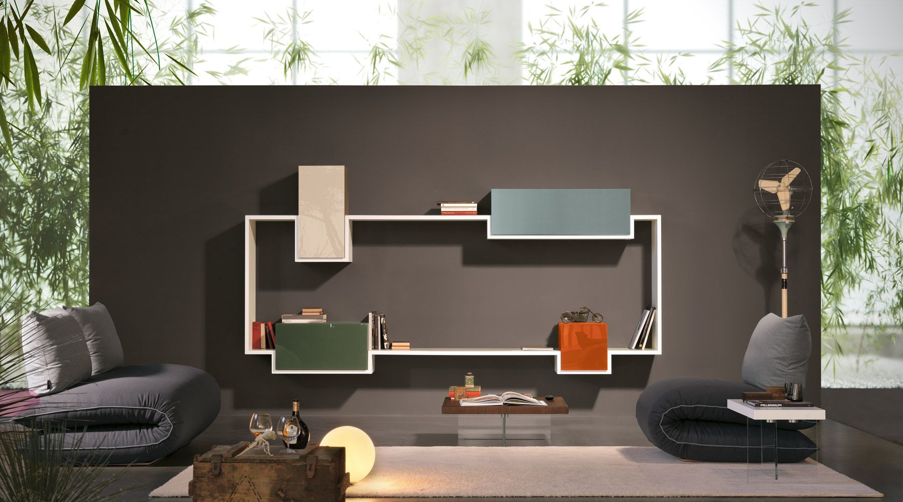 poltrone in un soggiorno di design | Forniture | Pinterest ...