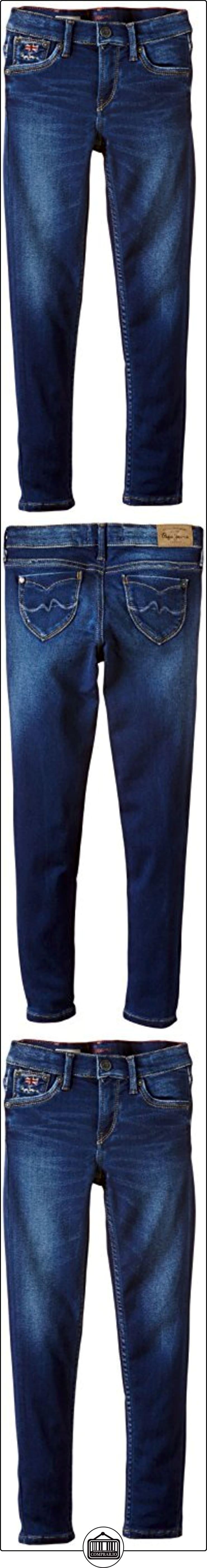 Pepe Jeans Snicker - Vaqueros para niñas, color blau denim, talla 2 años (92 cm)  ✿ Vaqueros ✿