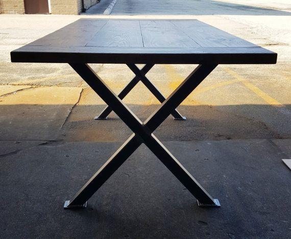 X Table Legs Model Tx2ts Heavy Duty Sturdy X Metal Legs