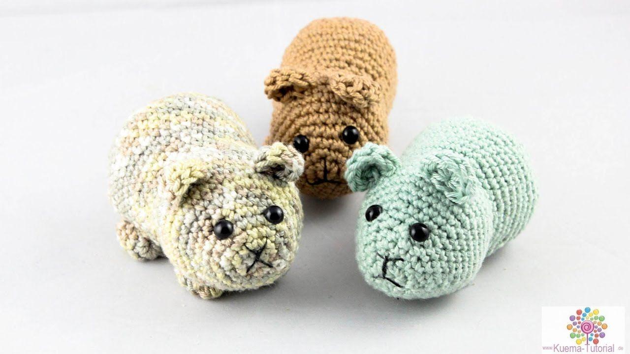 DIY: Hamster - Häkeln | Amigurumi | Anfänger | AMIGURUMIES | Pinterest