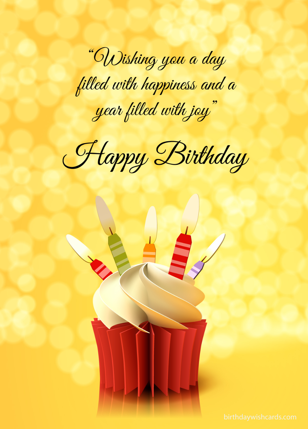 Birthday Wish Cards Happy Birthday Image Card Cupcake Birthday Cards Happy Birt Happy Birthday Greetings Friends Happy Birthday Cards Happy Birthday Messages