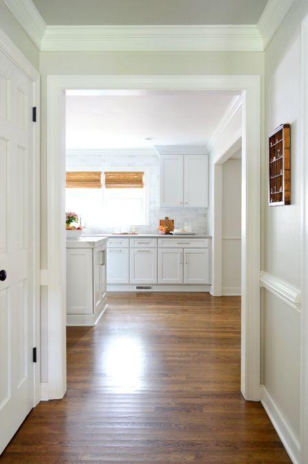 Getting New Hardwood Floors In The Kitchen Cost How Long It Took Etc Refinishing Hardwood Floors Home Refinishing Floors