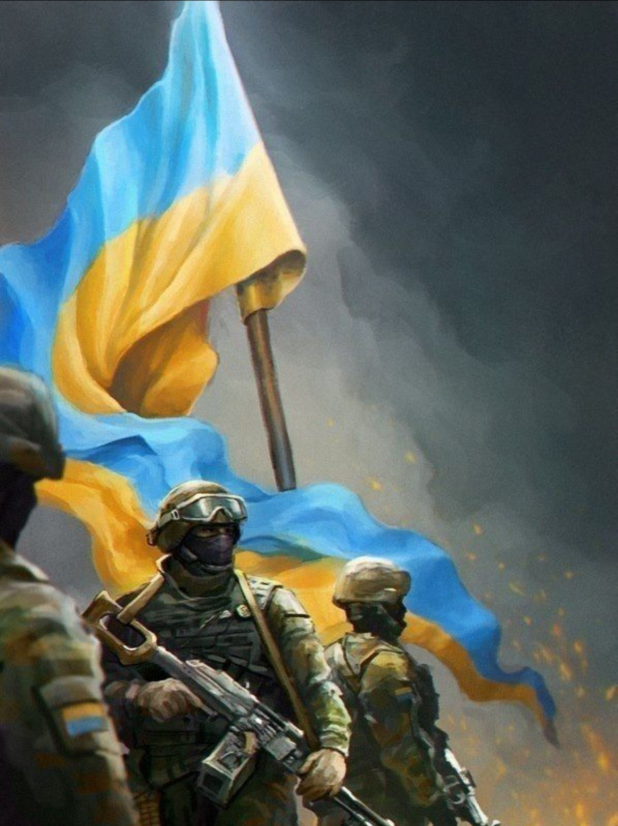 Image result for Ukraine army art