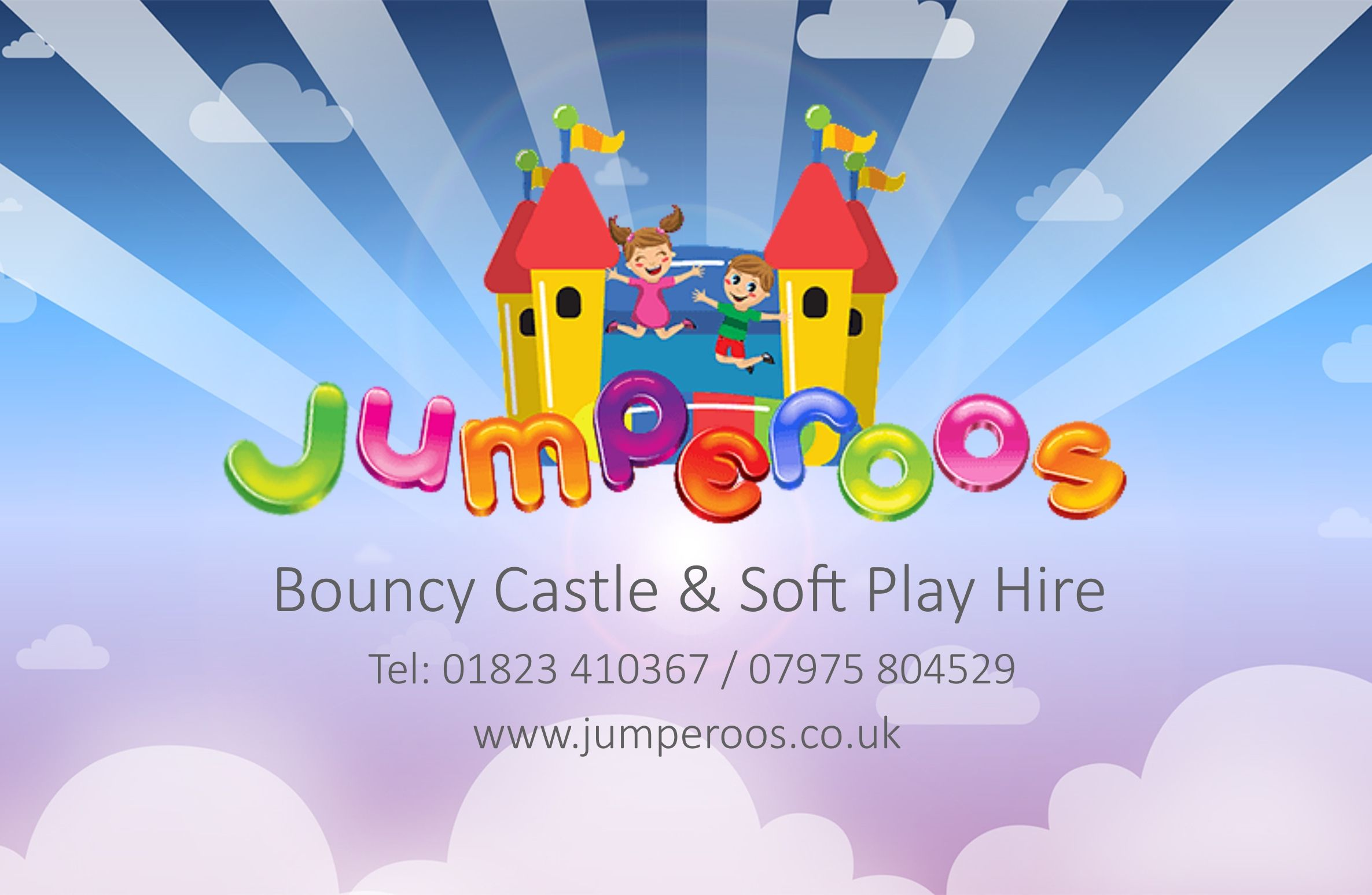 Jumperoos - Bouncy Castle & Soft Play Hire Taunton & Somerset www.jumperoos.co.uk