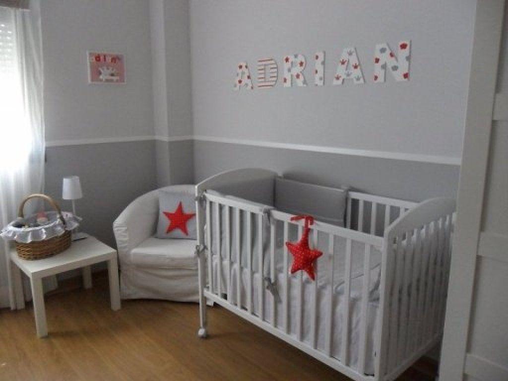 Resultado de imagen para cuarto del bebe gris hijos - Habitaciones infantiles blancas ...