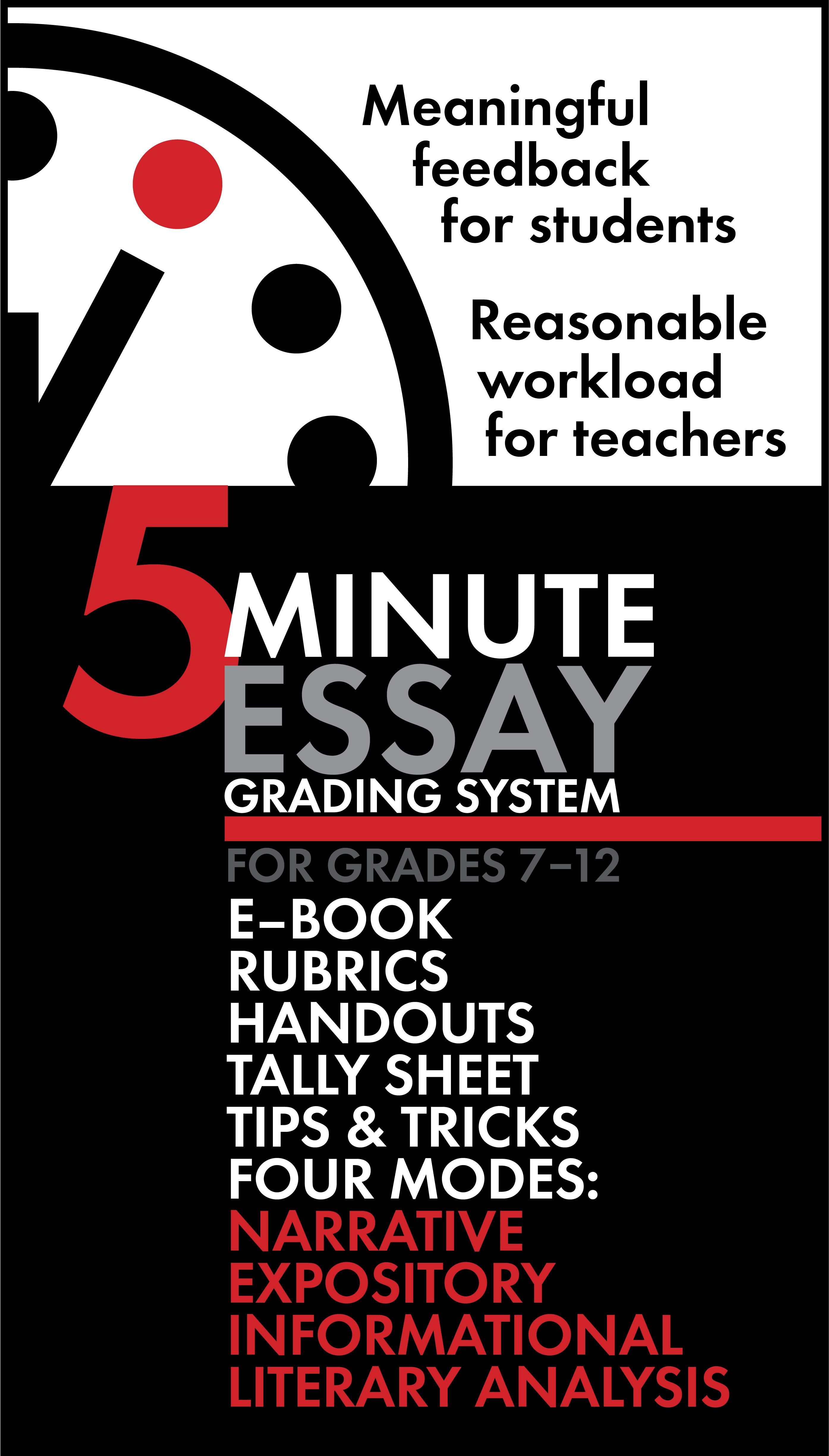 007 Exhausted by Essays? 5Minute Essay Grading System