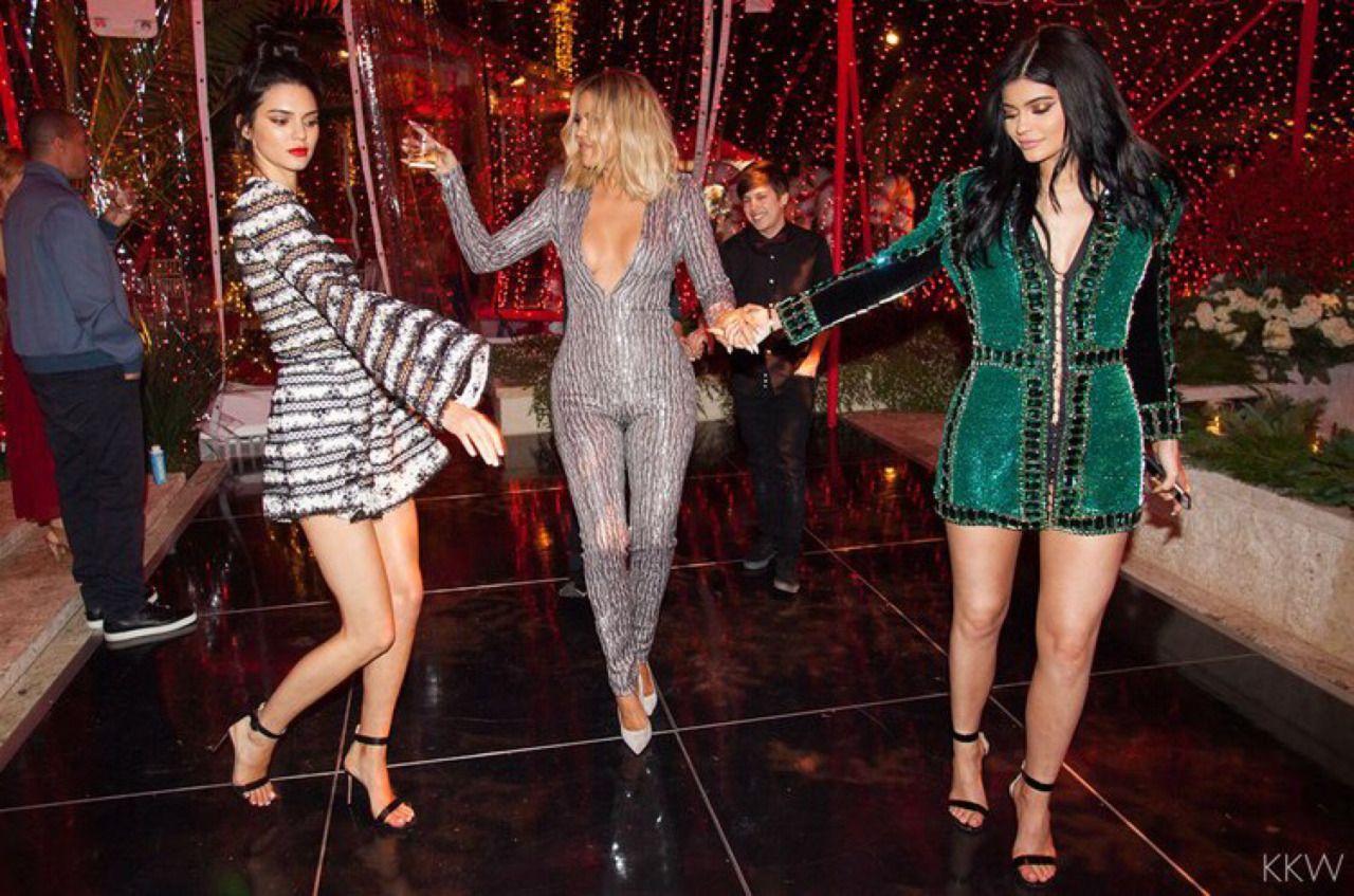 Kardashian/Jenner Blog — Kardashian/Jenner Christmas party 2015 ...