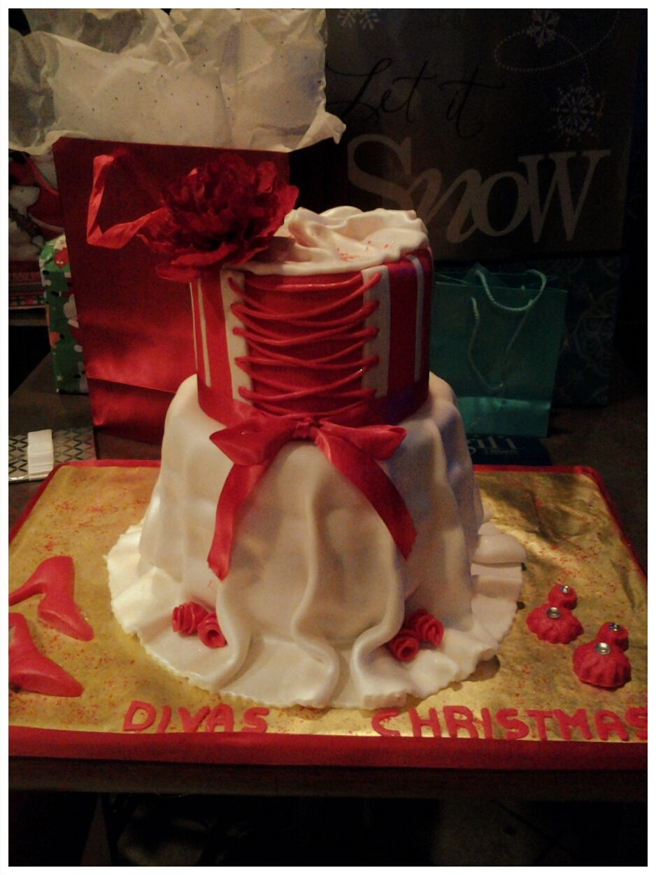 Clothing / Shoe / Purse Cakes - Dress cake