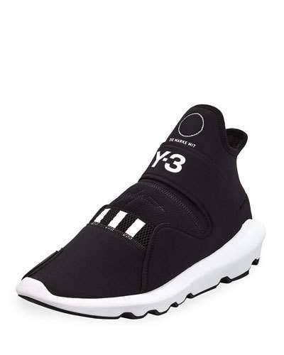 8354086a0 Y-3 Men s Suberou Knit Running Sneakers