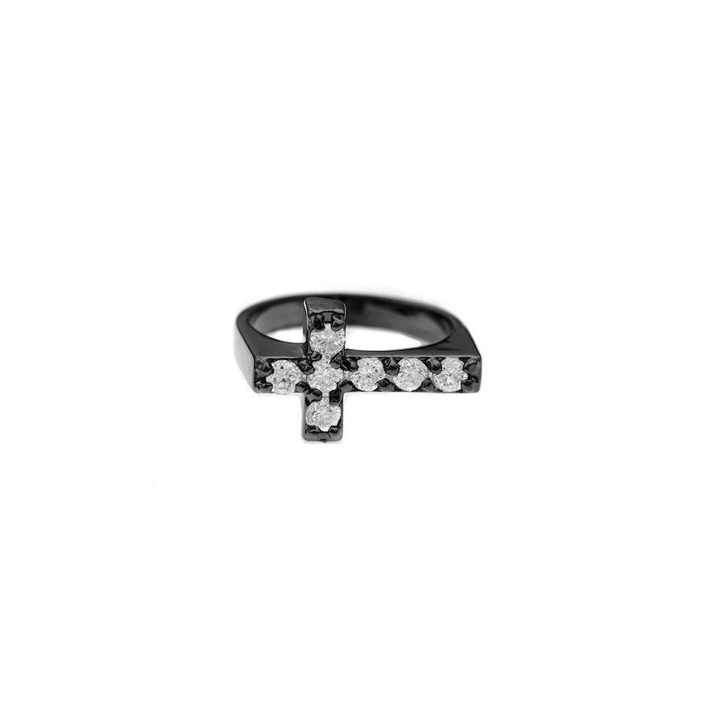 Mister Crucis Ring - Black