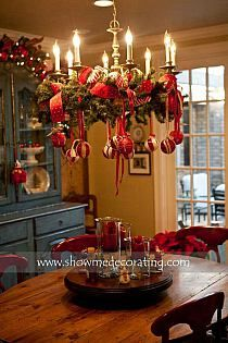 Chandelier | Christmas | Pinterest | Chandeliers, Holidays and ...