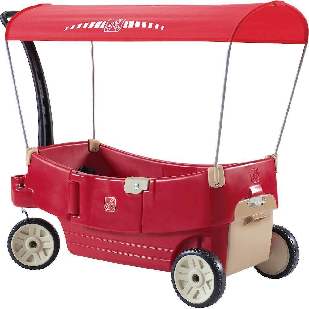 Step2 All Around Canopy Wagon Red Best Kids Toys Kids Bike