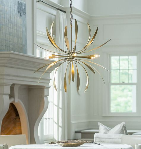 Crystal Chandelier Lighting Living Room 568 Lights Modern Style Pendant Light in Gold