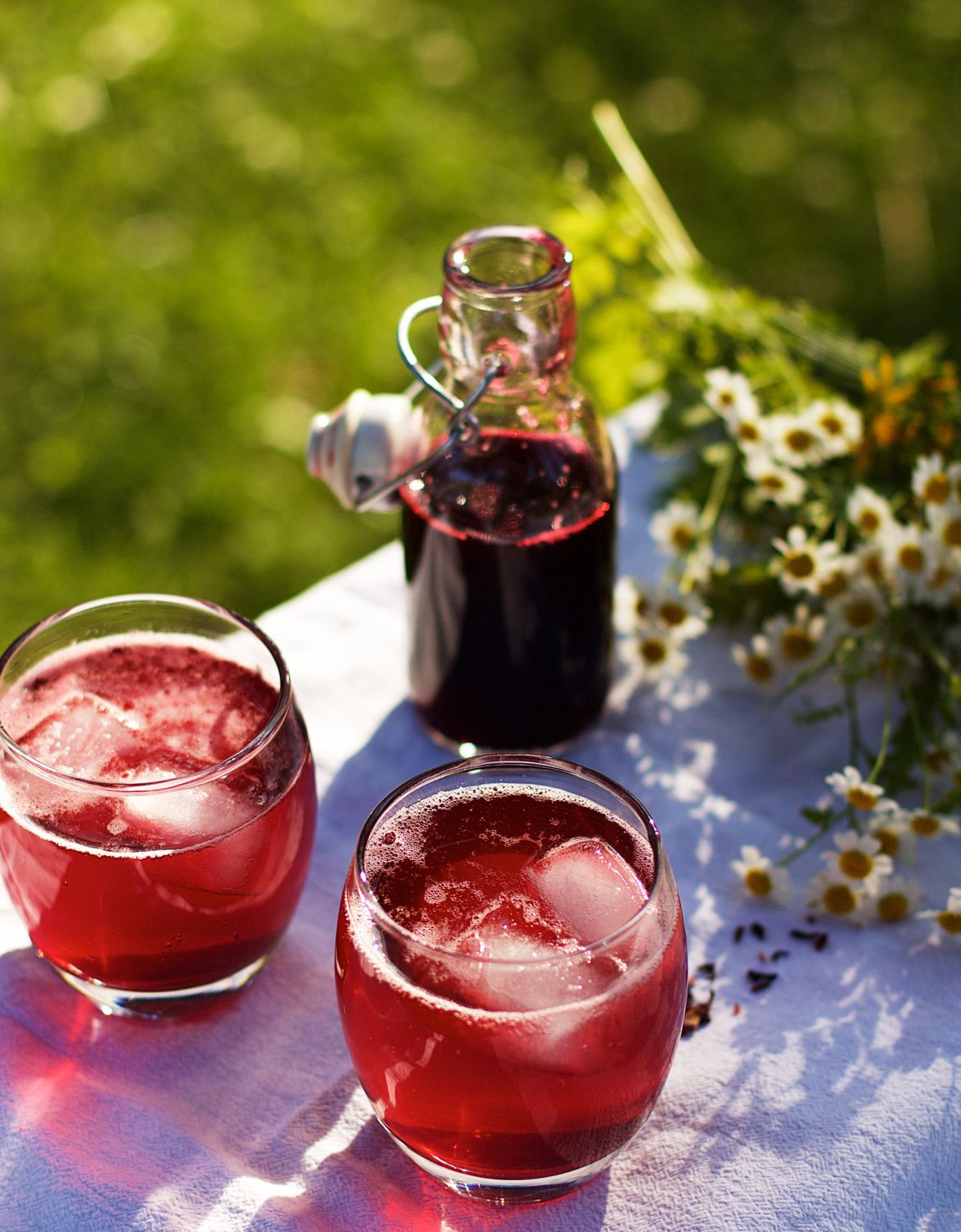How To Make Your Own Hibiscus Syrup Hibiscus Syrup Hibiscus Syrup Recipe Syrup Recipe
