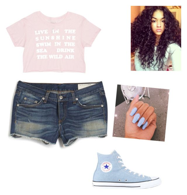 filming a bunch of covers with Madison beer and mahogany lox by slayyeettia on Polyvore featuring polyvore, fashion, style, Billabong, rag & bone and Converse