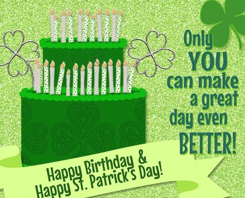 Send An Irish Wish To A Friend Celebrating His Her Birthday On Stpatricksday With This Ecard Irish Birthday Wishes Irish Birthday Birthday Wishes For Myself