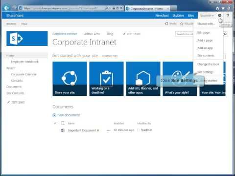 How To Create A New Sharepoint 2013 Site Template Sharepoint 2013 Tutorials Sharepoint Design Sharepoint Sharepoint Intranet