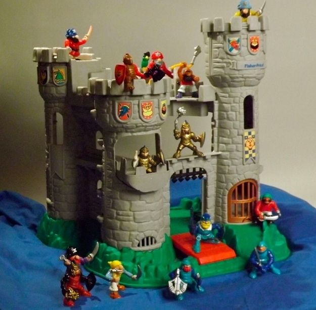 Best Castle Toys For Kids : Fisher price great adventures castle awesome s