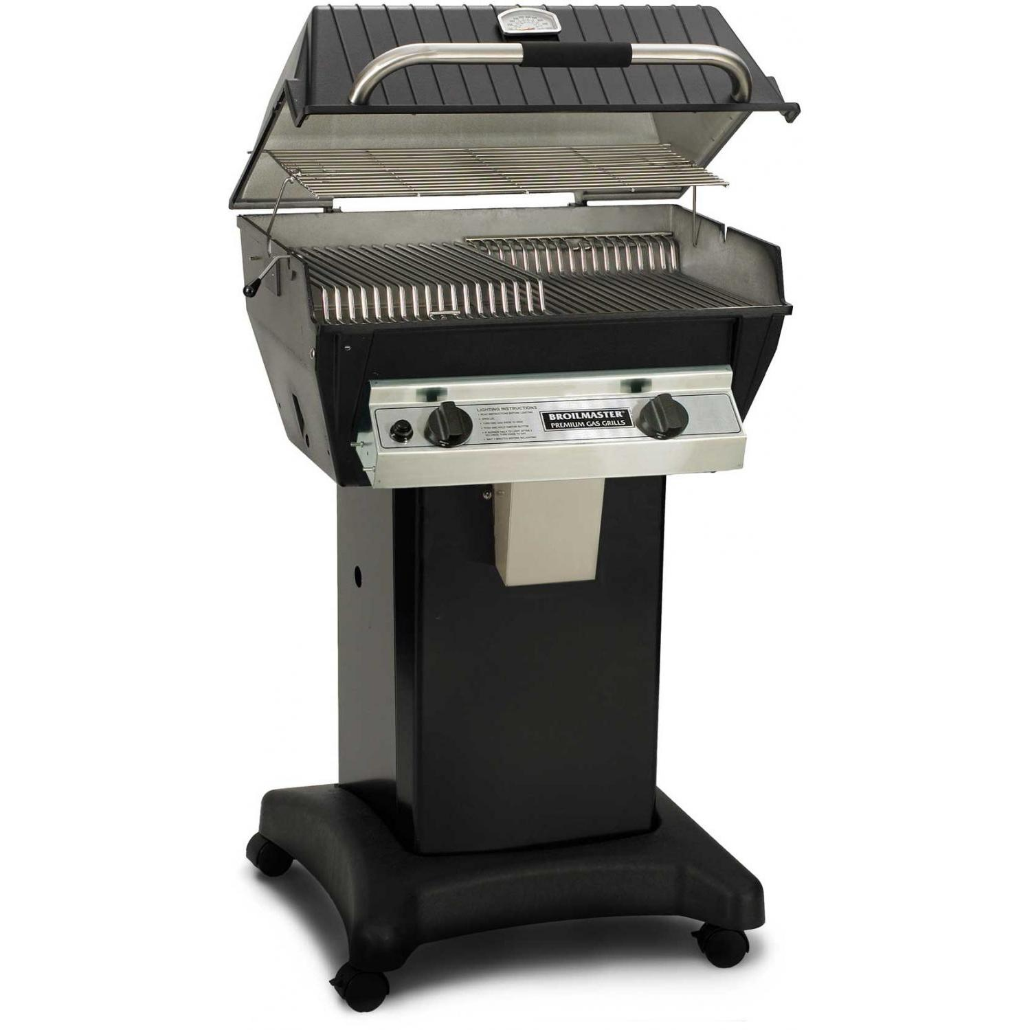 Broilmaster R3bn Infrared Combination Natural Gas Grill On Black Cart With Images Gas Grill Natural Gas Grill Propane Gas Grill
