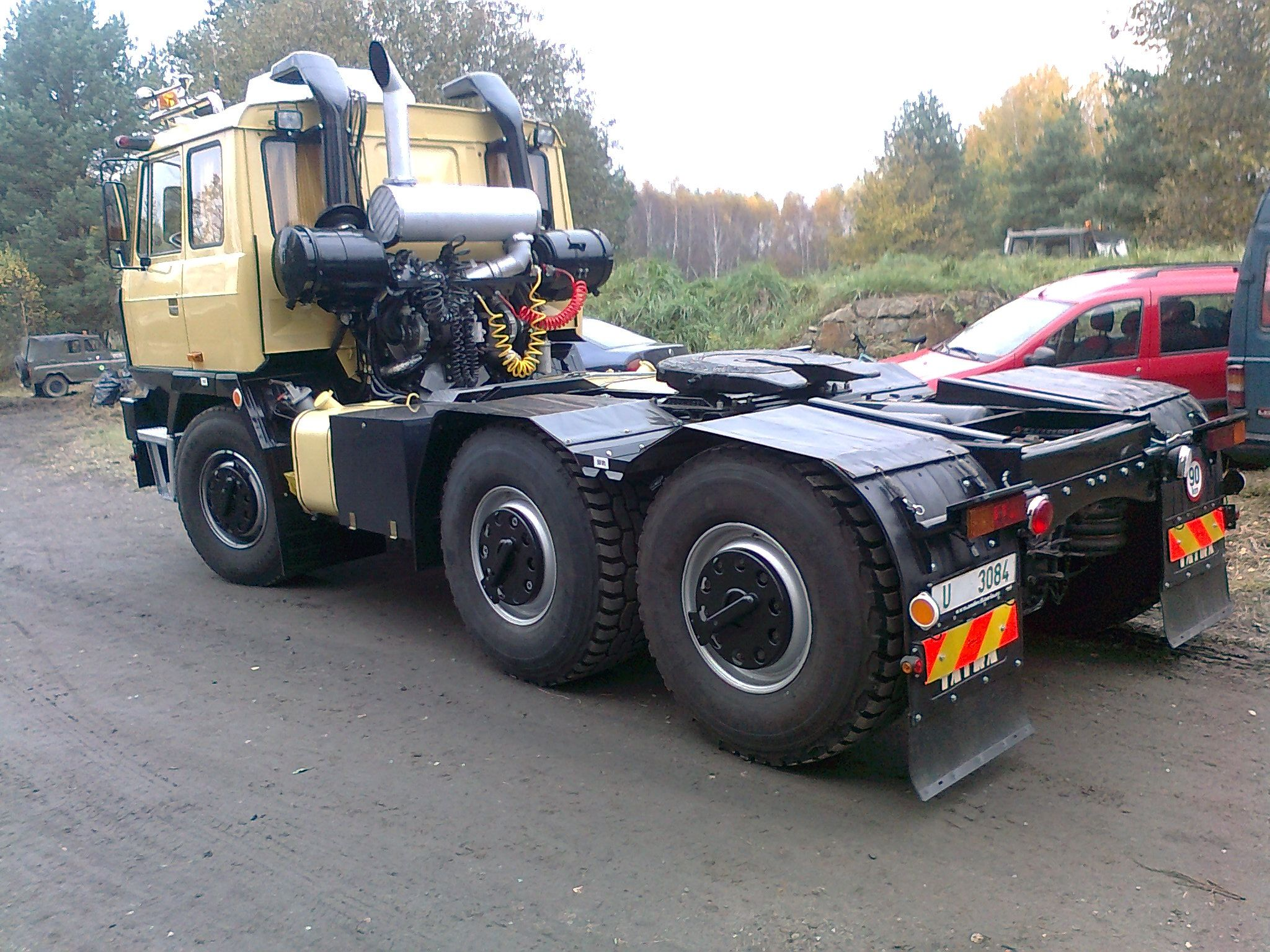 Tatra T815 Nth 6x6 Trucks Heavy Duty Trucks Big Trucks