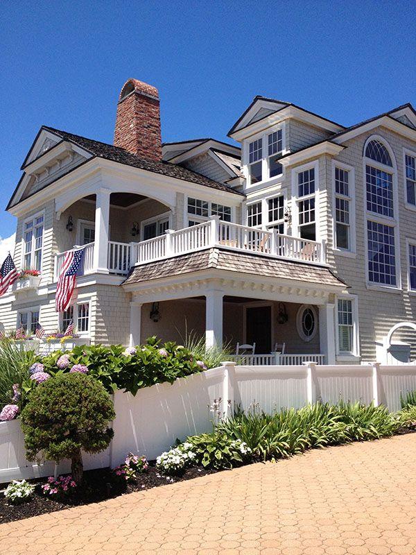 Cuckoo4design Beach Mansion Dream Beach Houses Beach House Exterior