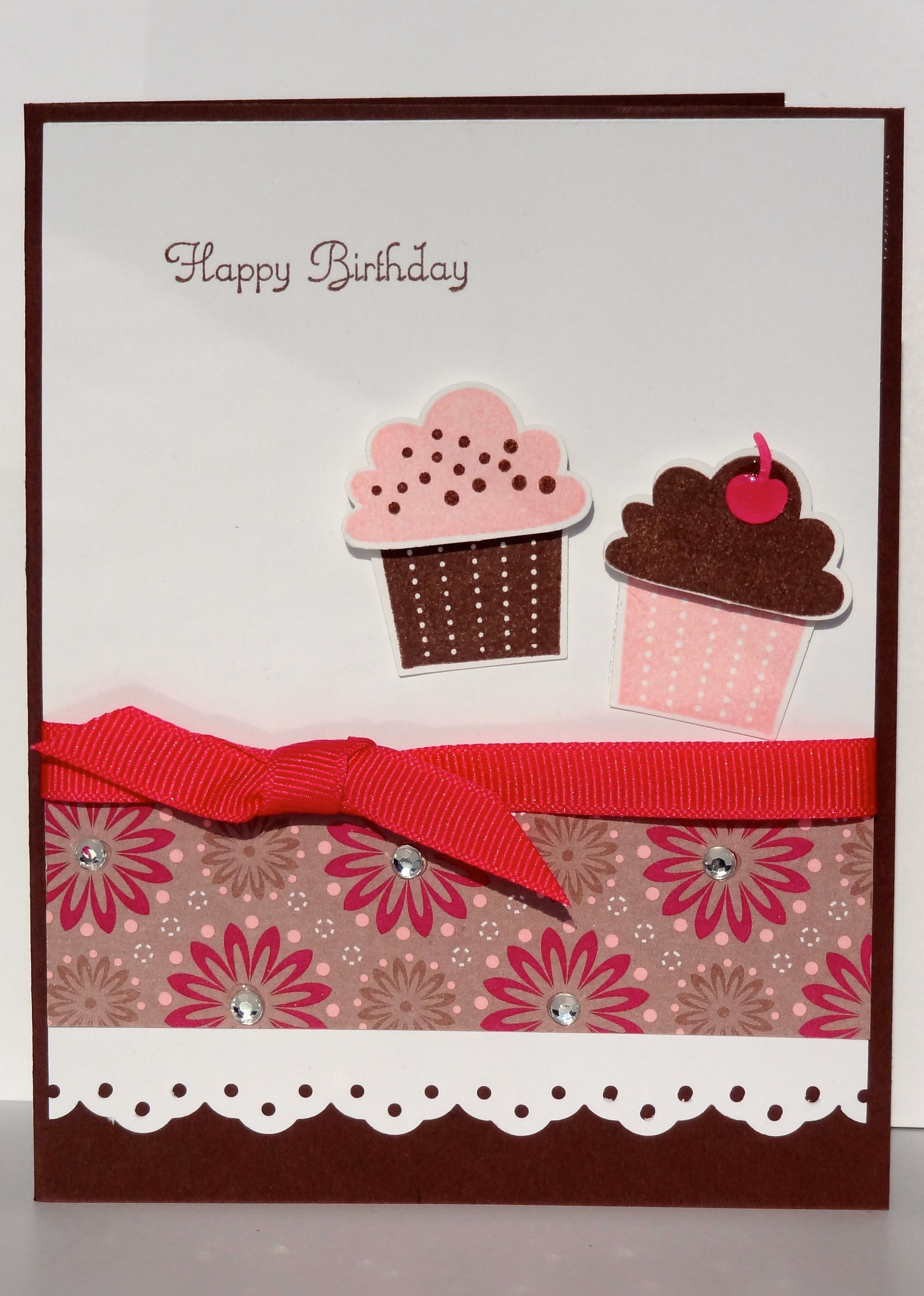 Stampin Up Create a Cupcake by Amy Eller
