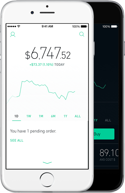 Robinhood Zero commission stock trading. Stop paying up to