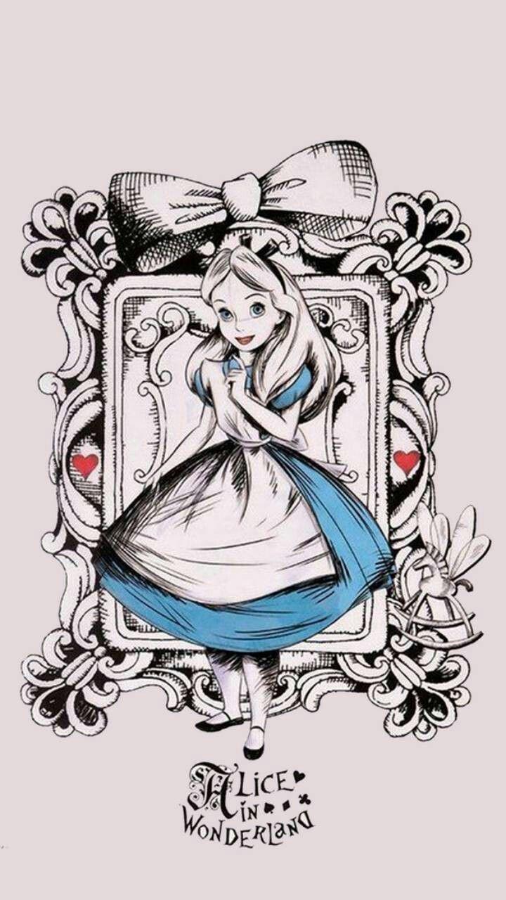 Pin By Belen Girola On Wallpaper Alice In Wonderland Drawings Alice In Wonderland Wonderland Tattoo