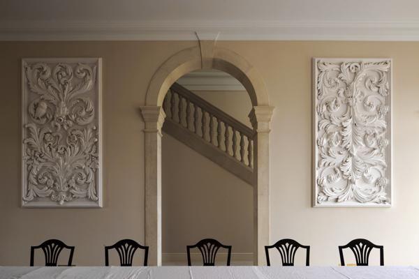 Geoffrey Preston - http://www.elizabethmachinpr.com/geoffrey-preston-plasterworks.html
