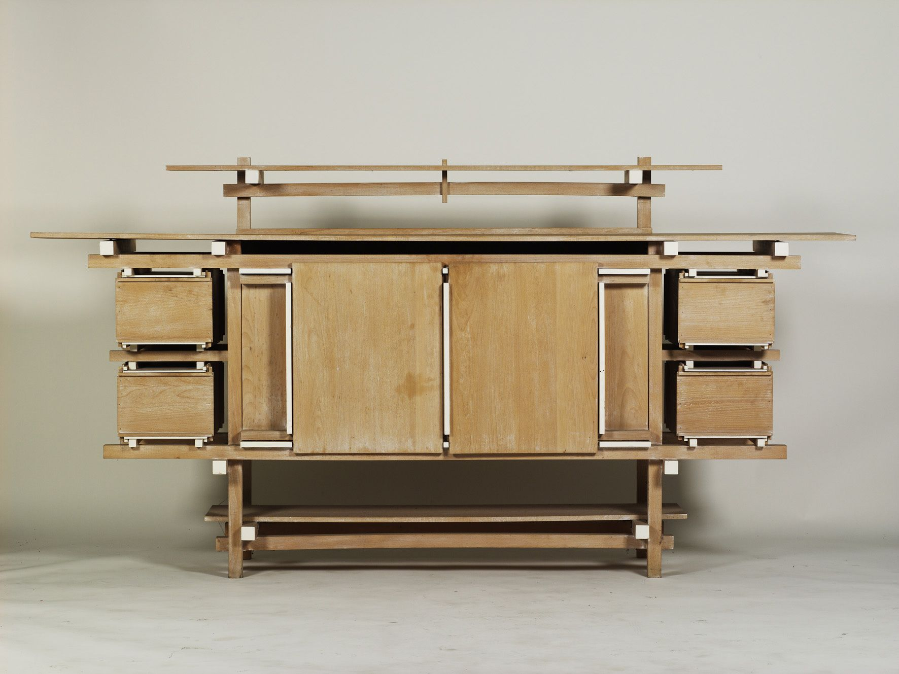 Gerrit rietveld furniture - A Beautiful Beech And Plywood Buffet Designed From Gerrit Rietveld In 1919 The Original