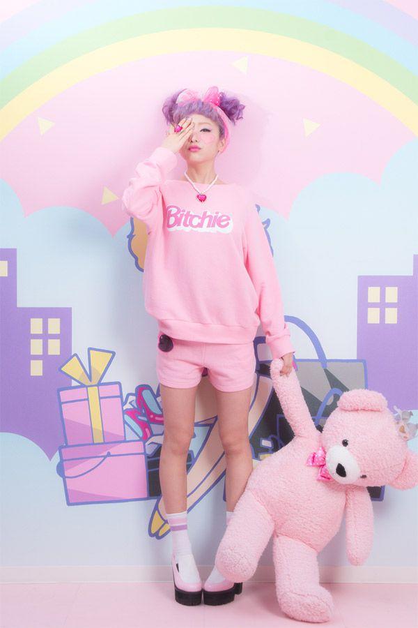 Bitchie girl #fashion #pixiemarket