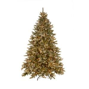 7 5 Ft Pre Lit Snowy Pine Artificial Christmas Tree With Clear Lights And Pine Cones Sr1 308e 75x Christmas Tree Christmas Tree Shop Artificial Christmas Tree