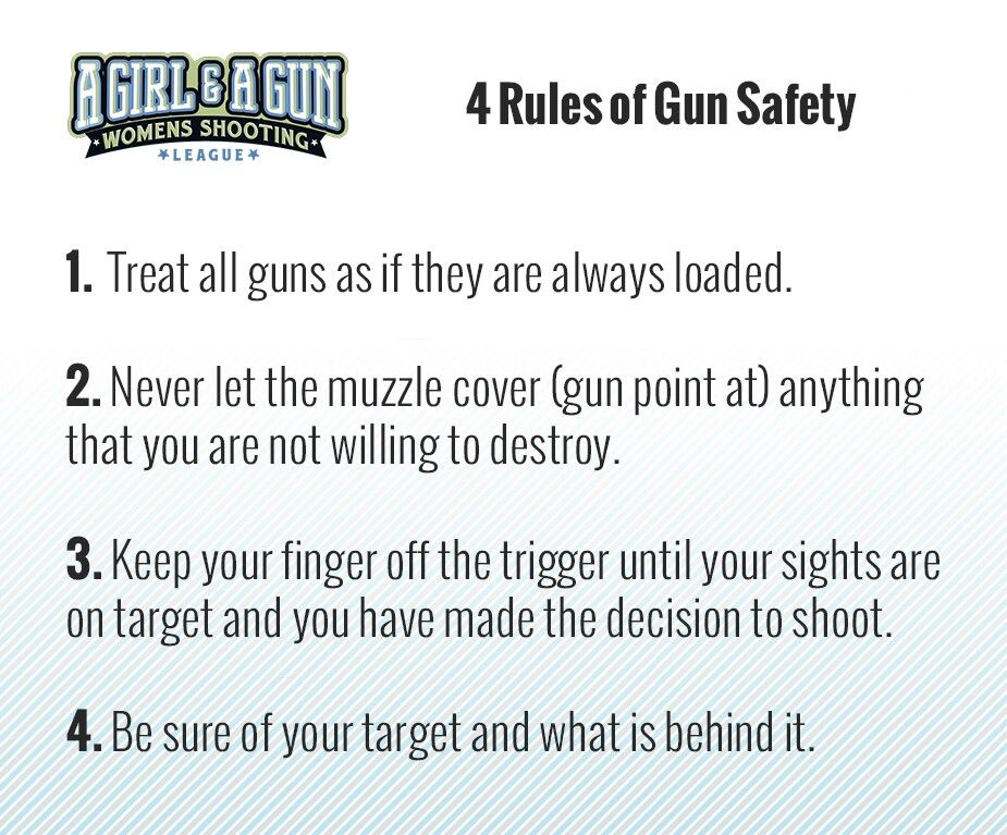 Learn 'em Not just a Girl Guns, Safety, Firearms
