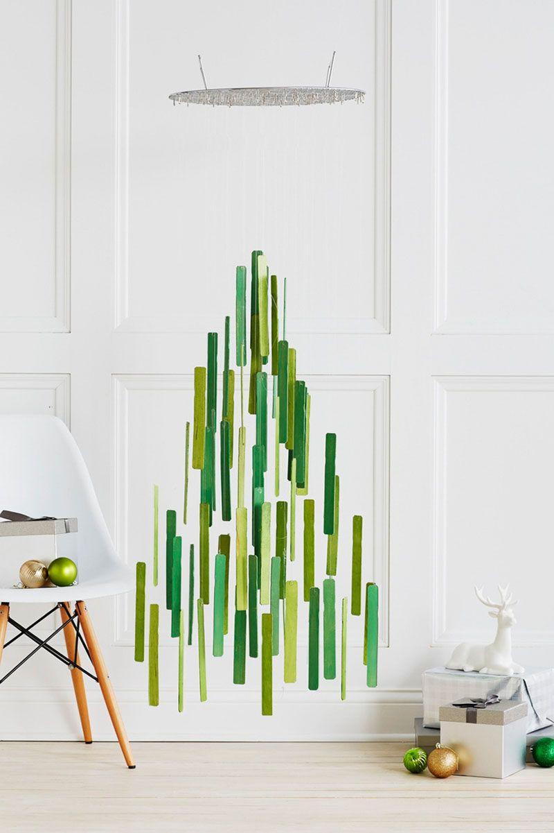 Christmas Decor Ideas – 14 DIY Alternative Modern Christmas Trees