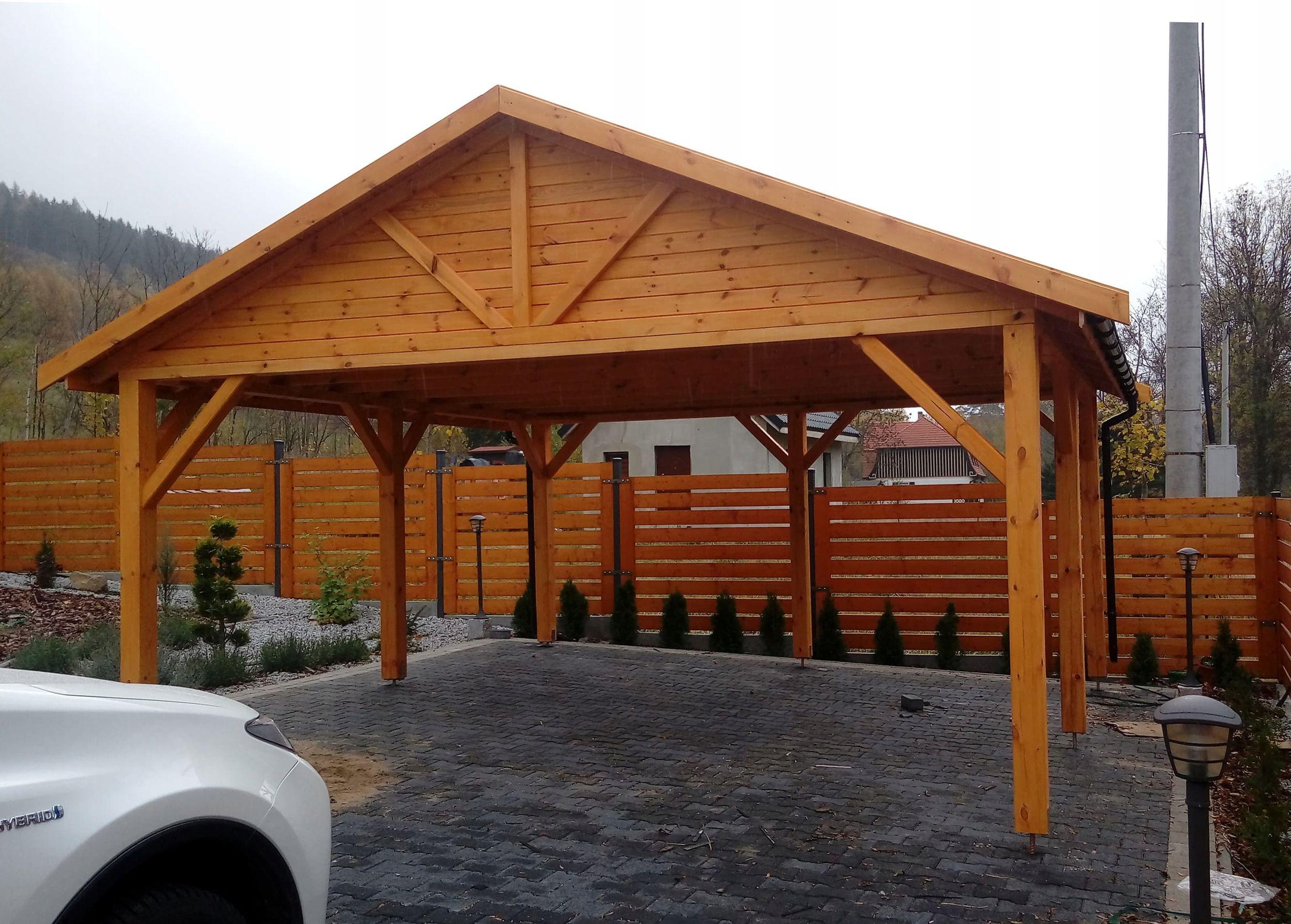 Wiata Drewniana Altana 5x5 Wiaty Garaz Zadaszenie Carport Designs House Styles Stainless Steel Grill