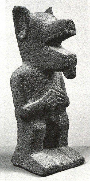 Coyote, cultura Purepecha  (from Derechos Indigenas Michoacan)