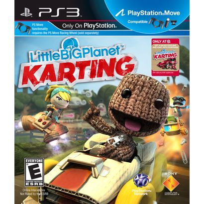 Little Big Planet Karting - Target Exclusive (PlayStation 3) | Gifts