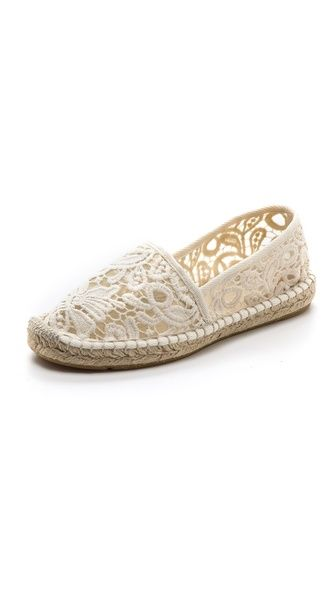 Tory Burch crochet espadrilles - want these for the summer