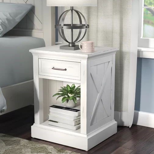 Moravia 1 Drawer Nightstand In 2020 Decor Furniture Repurposed