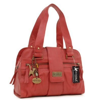 Catwalk Collection Leather Handbag Zara Red Co Uk Clothing