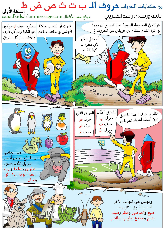 قصص وحكايات موقع سند للأطفال Learning Arabic Kindergarten Classroom Decor