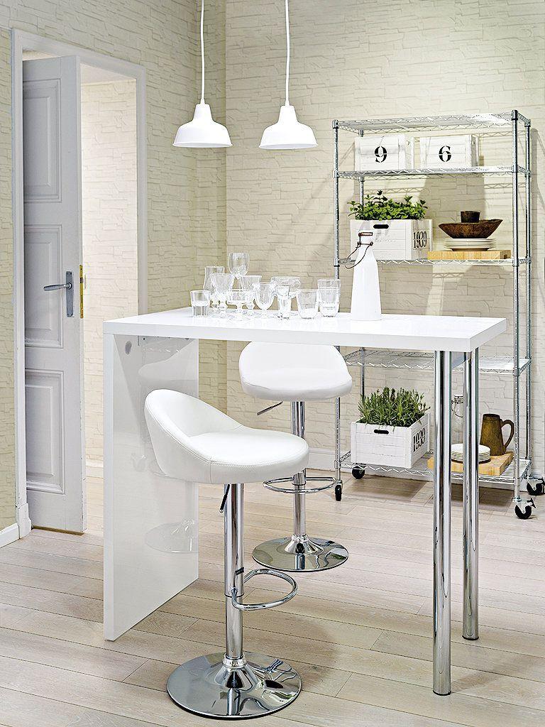 Estrena decoración por Año Nuevo | Mesas altas cocina ...