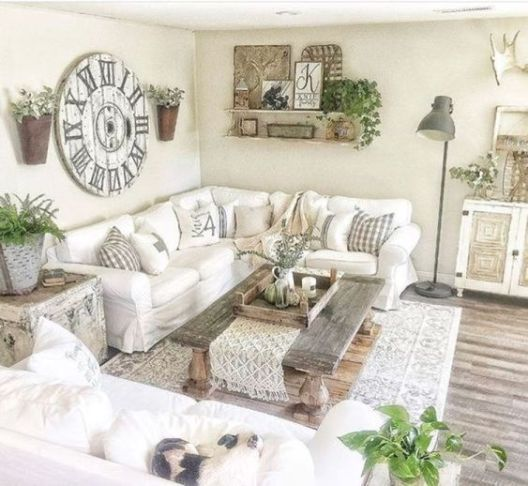 Farmhouse Living Room: 25+ Chic Inspirations You'll Love images