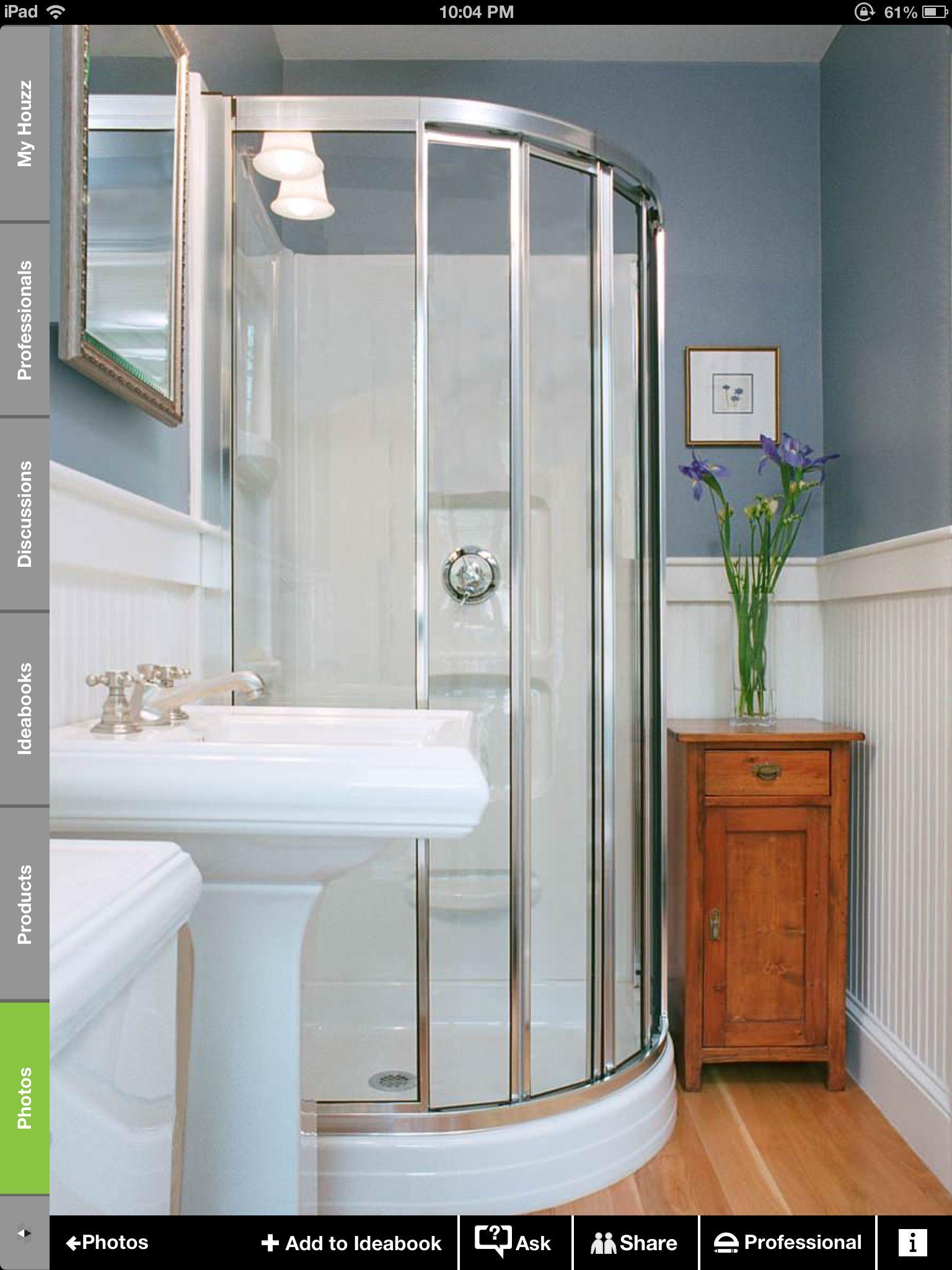 Over Garage loft small bathroom | Traditional bathroom ...