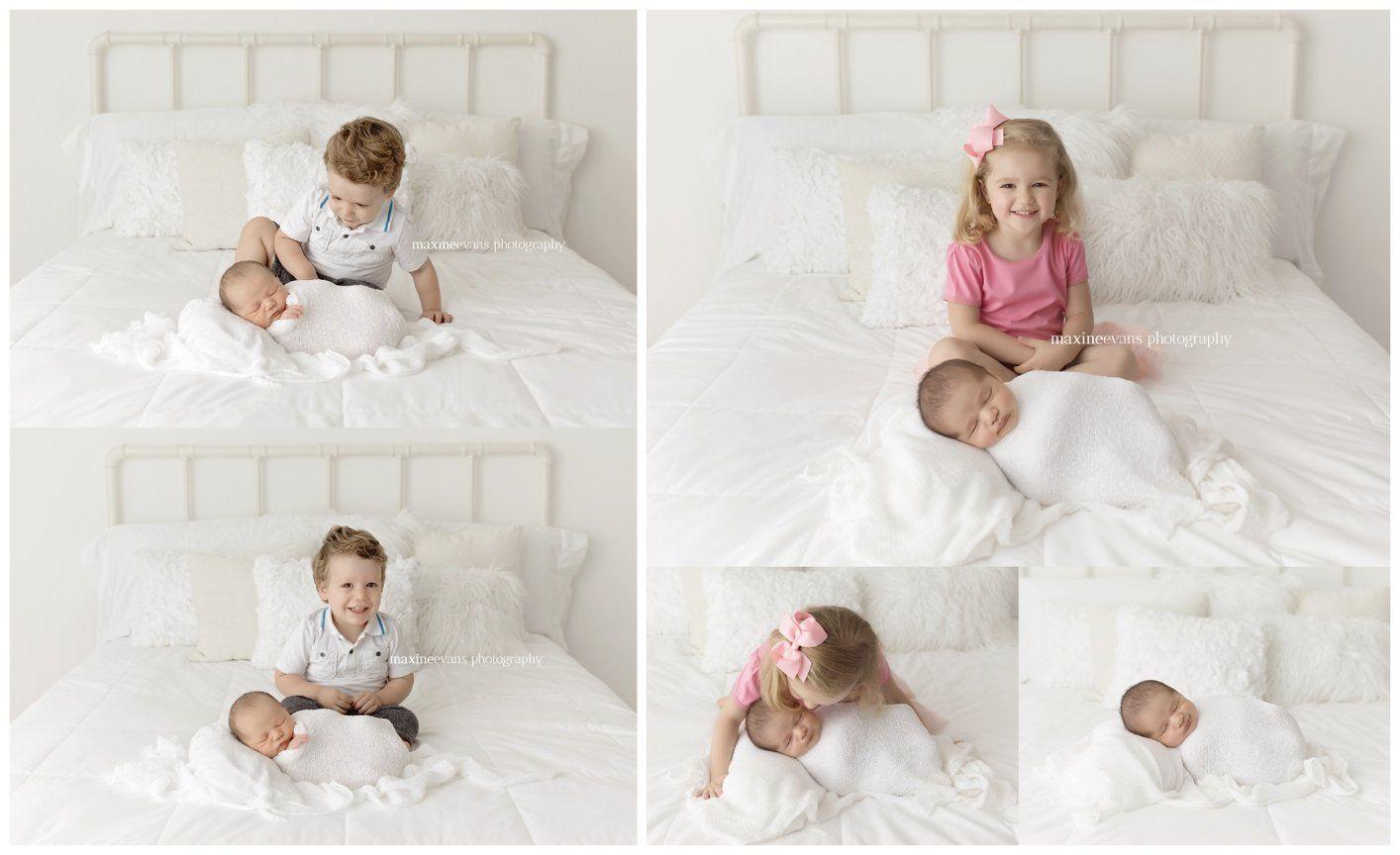 Los Angeles Newborn Baby Photography - Siblings! | Newborn ...